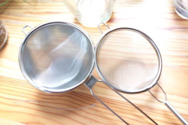 ハイッテク茶こしと普通の茶こしの違い
