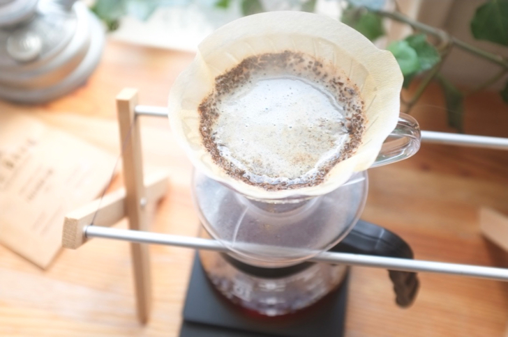 ハリオv60でコーヒーを淹れる