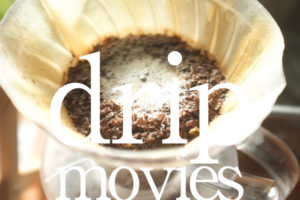 コーヒーのハンドドリップ