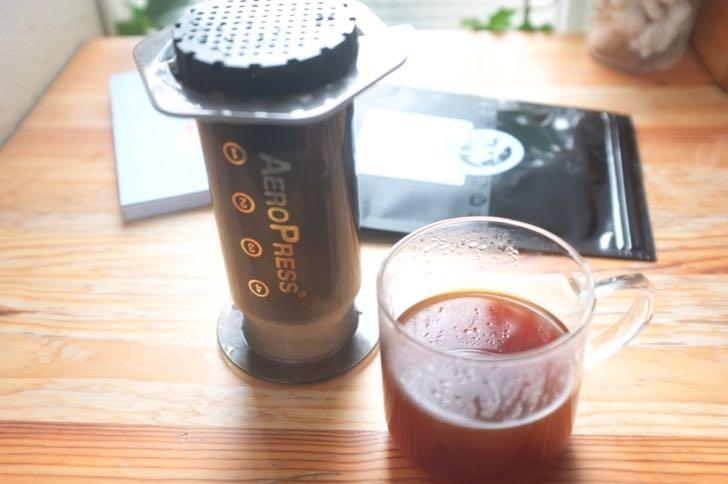 エアロプレスとコーヒー