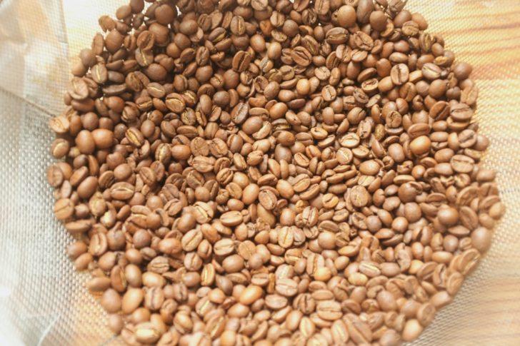 カフェーパウリスタ森のコーヒーのコーヒー豆